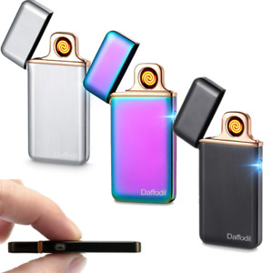 Daffodil USB Chargeable Windproof Flameless Electronic Lighter EC220