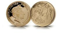 More details for 2021 the dragon conquered brilliant uncirculated 22ct gold quarter sovereign