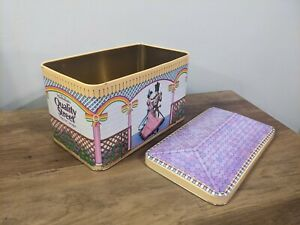 Vintage Quality Street Tin from 1991 House Design Storage Container Display