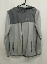 Under Armour Zip Up Hoodie,Size Youths XL,Colour Grey
