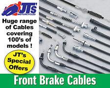 Réplica cable del freno delantero para adaptarse a Honda Xl250 sz/sa/sb / Xl500 sz/sa/sb (79-81)