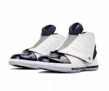 Air Jordan XVI 16 Retro OG White Navy Blue Mens Size 16 Flight 23 Jumpman Wings