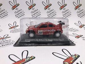"""Die Cast """" Citroen Zx Rally Raid Granada Dakar 1996 P.Perrin """" Goddess 1/43"""