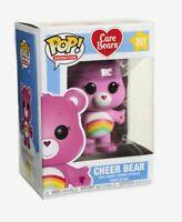 Funko Pop Animation: Care Bears - CHEER Bear Vinyl Figure # 351 PINK NEW