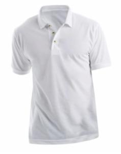 Sublimation Printable - White Men's Polo Shirts - Xpres XP503 - All Sizes