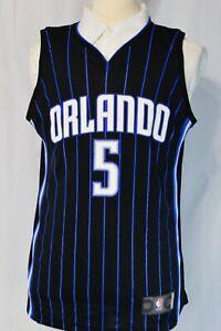 Mo Bamba Black Orlando Magic #5 Jersey Fanatics Medium