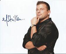 MATT STRIKER Autographed 8x10 WWE Superstar Diva - LEAF COA