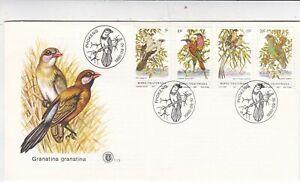 Bophuthatswana 1980 Birds FDC unaddressed VGC with enclosure