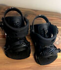 Union Force Bindings, Size Men's Large, Preowned, All Black