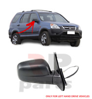 FOR HONDA CR-V 2002-2006 NEW WING MIRROR ELECTRIC BLACK RIGHT LHD 76200S9AK01