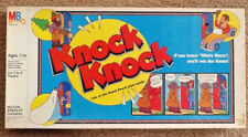 Vintage Milton Bradley Knock Knock Board Game 1982 Edition Fun Knock Knock Jokes