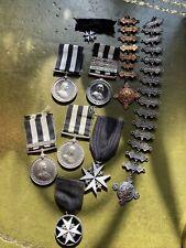 More details for saint johns ambulance association medals big lot