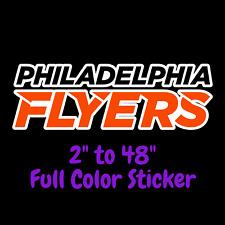 Philadelphia Flyers Full Color Vinyl Decal   Hydroflask decal   Cornhole decal 4