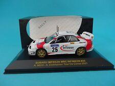 SUBARU IMPREZA WRC #25 - MORTL - RALLY TOUR DE CORSE 2001  1/43 NEW - IXO RAM041