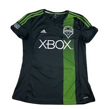 Child Girls youth adidas mls soccer futbol Seattle sounders fc Xbox jersey Large