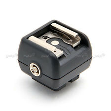 Adaptateur Griffe pour Flash Nikon ( Hot shoe adapter) avec un port PC