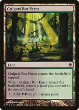 Magic MTG Tradingcard Commander 2013 Golgari Rot Farm 291/356