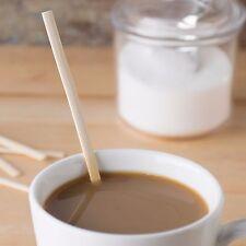 "7"" Eco-Friendly Bamboo Coffee Stirrers (100 Pk)"
