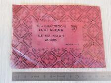 GUARNIZIONI SERIE TUBI ACQUA FIAT 682 - 682 N2