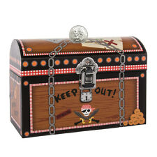 Kids Piggy Bank Coin Savings Treasure Chest or Friendly Forrest Latch Girls Boys
