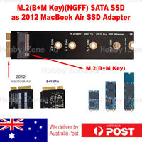 M.2 B-Key NGFF SATA SSD to 2012 Macbook Air 8+18 Pin SSD Adapter Converter