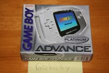 Nintendo Game Boy Advance SP Limited Edition Platinum Console - NEW SEALED NM!