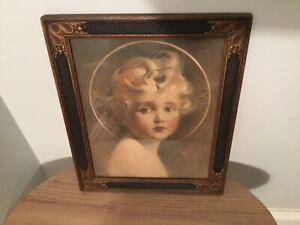 "Vintage C Bosseron Chambers ""Light of the World"" Framed Print"