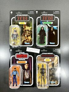Star Wars Kenner Collection LOT OF 4 - Teebo, Emperor, IG-11 & Lando Calrissian