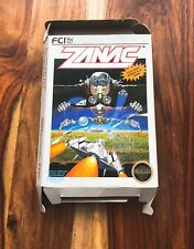 Zanac NES Nintendo BOX ONLY no manual or cart game