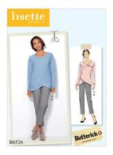 Butterick B6526 Lisette PATTERN Misses Top & Pants Sizes 6-22 New