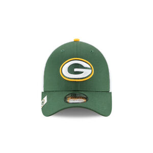 New Era Green Bay Packers 39THIRTY Logo Wrapped Flex Fit Hat, Medium/Large