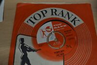 "LORIE MANN.   I WONDER.   7"" SINGLE.    TOP RANK RECORDS. 1959. 45-JAR 237"