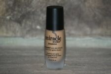 PHILOSOPHY MIRACLE WORKER FOUNDATION SHADE 9  TAN/DEEP 1 FL OZ PUMP SPF 30