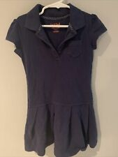 Cat & Jack Girls Navy Dress - Uniform- Size Xs (4/5)