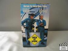 Men at Work (VHS, 1990) Charlie Sheen Emilio Estevez
