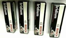 (4 PCS) NEW OEM SPARK PLUG IRIDIUM  BOSCH  9606