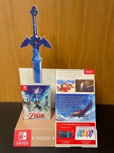 Nintendo Switch Zelda Skyward Sword Display Steelbook Keyring Shop promo  Dummy