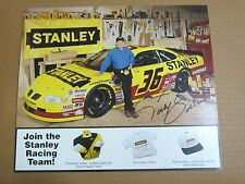 Todd Bodine 8-1/4 x 9-1/2 Autograph photo Stanley Racing