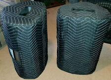 TURBOSOUND Milan M12 Premium Padded Black Speaker COVERS (2)  Qty of 1=1 Pair!