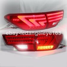 For Highlander LED Strip Back Lamp Kluger Tail Light 2014 to 2015 Year Red Color