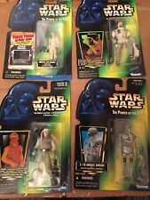 Star Wars Empire Strikes Back Lot of 4 Hoth Action Figures Skywalker Leia 2-1B
