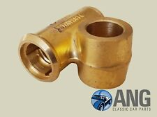 TRIUMPH SPITFIRE,GT6,HERALD,VITESSE FRONT LEFT HAND LOWER BRASS TRUNNION HOUSING