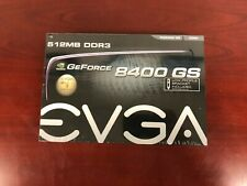 EVGA 512-P3-1300-LR GEFORCE 8400 GS 512 MB DDR3 PCI EXPRESS 2.0 GRAPHICS CARD