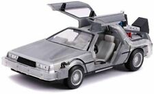 Back to The Future 2 Delorean 1 24 Scale Hollywood Ride Officially Jada Toys
