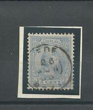 """KLEINROND-stempel """"EDE 26-jun-1893"""" op 35"""