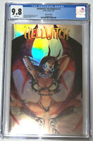 Hellwitch Sacrilegious #1 Ortiz Holo Foil Edition Coffin Comics CGC 9.8 Ltd /300
