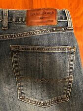 Men's Lucky Brand Dung Blue Jeans(361 Vintage Straight Leg)HighRise Size 32X32""