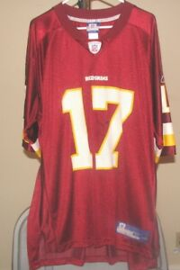 Washington Redskins NFL Reebok Burgundy Jason Campbell #17 XL Jersey