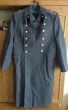 Russian Soviet coat army officer Military Uniform Winter Overcoat Wool USSR xl