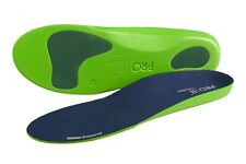Orthotic insoles with poron met and heel pads for plantar fasciitis relief